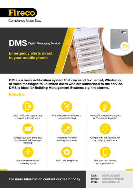DMS (Digital Messaging Service)
