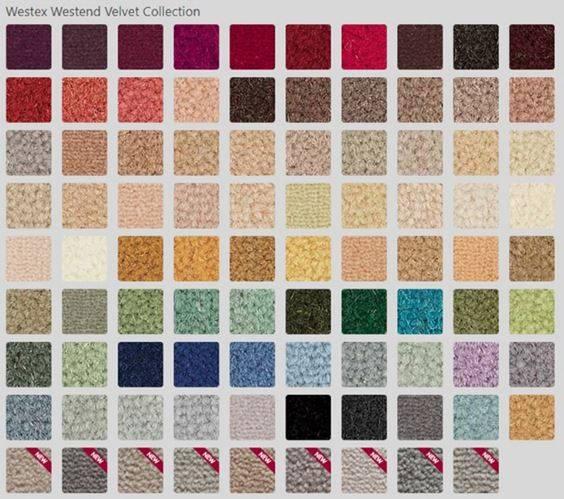Westend Velvet Collection Broadloom Carpet