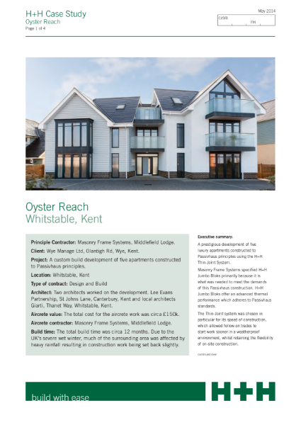 Oyster Reach, Tankerton