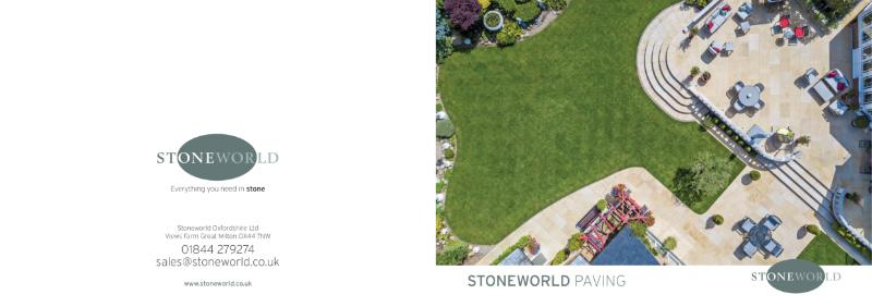 Stoneworld PAVING mini brochure