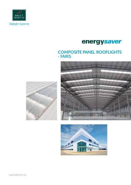 Composite Panel Rooflights Brochure - Energysaver