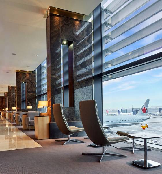 Air Canada Lounge - Award Winning Aviation Lounge