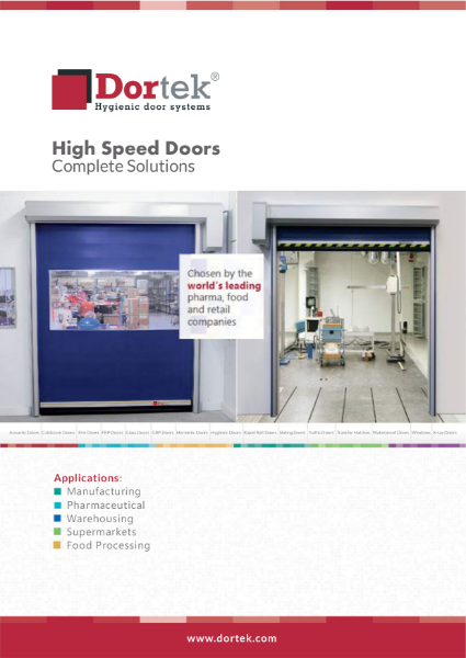 8. Dortek Vertical High Speed Doors