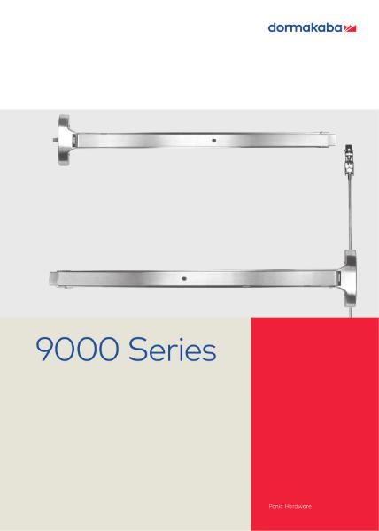 9000 Series Panic Hardware