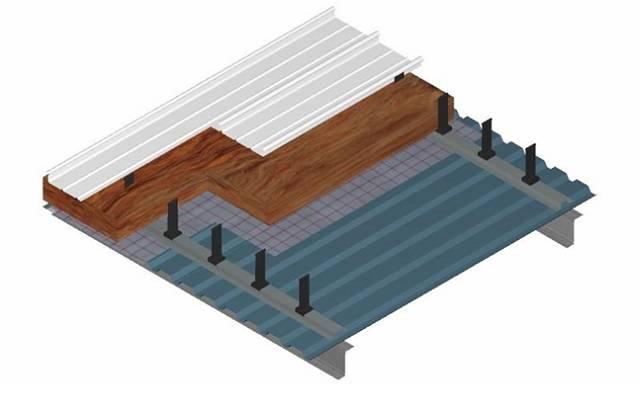 Kalzip Liner Roof System 0.18 U-Value