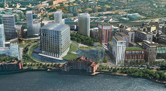 Ballymore Properties Ltd, Embassy Gardens, Nine Elms, Battersea, London