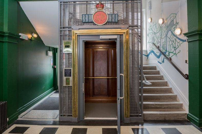 Stannah resurrects a 1930s passenger lift in YMCA's The Bristol Wing