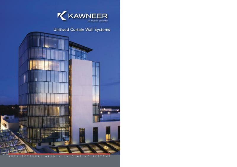 Kawneer Unitised Curtain Wall Systems Brochure