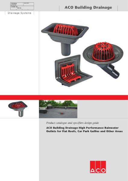 ACO Rainwater Outlets brochure