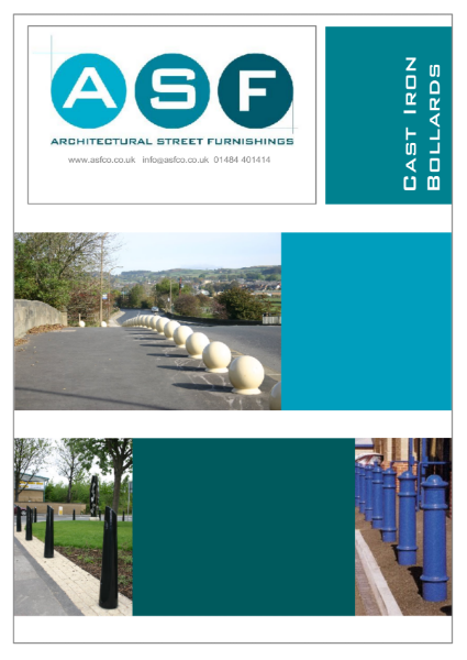 ASF Cast Iron Bollards Brochure