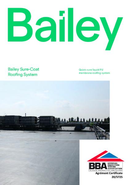 Bailey Sure-Coat PU Cold-Applied Liquid Plastic Brochure