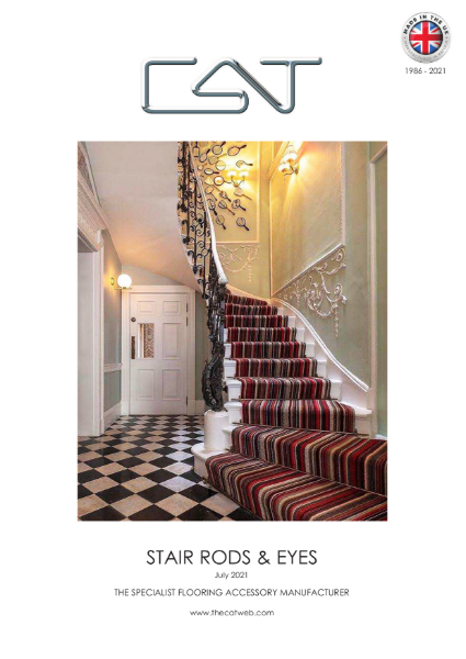 CAT Stair rods & Fixing Eyes Catalogue 2021