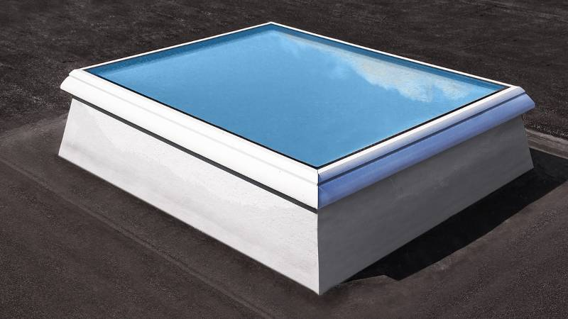 Glass Skylight F100