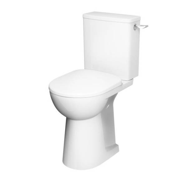 E100 Square Raised Lever WC