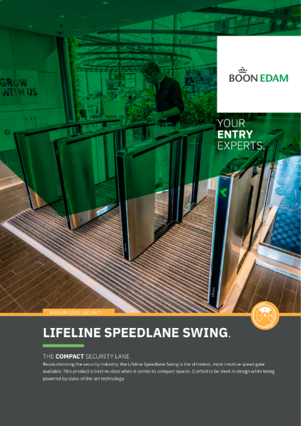 Lifeline Speedlane Swing - compact security lane