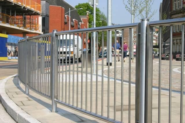 ASF Swansea Pedestrian Guardrail
