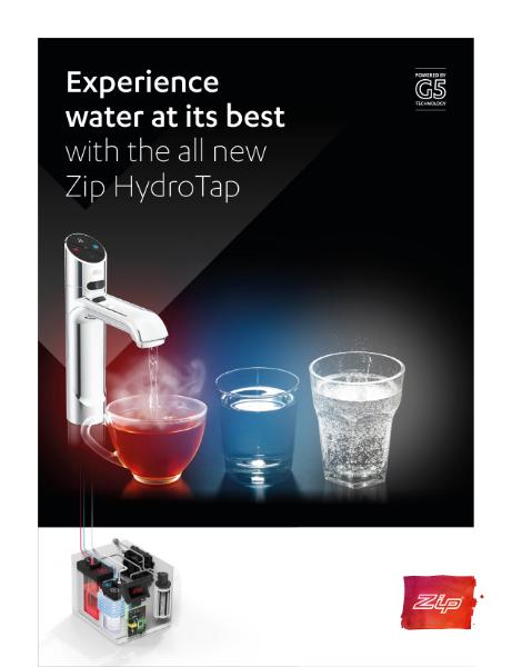 Zip Water - HydroTap G5 brochure