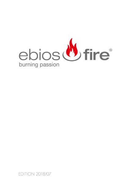 Ebios-fire bioethanol fires from DRU