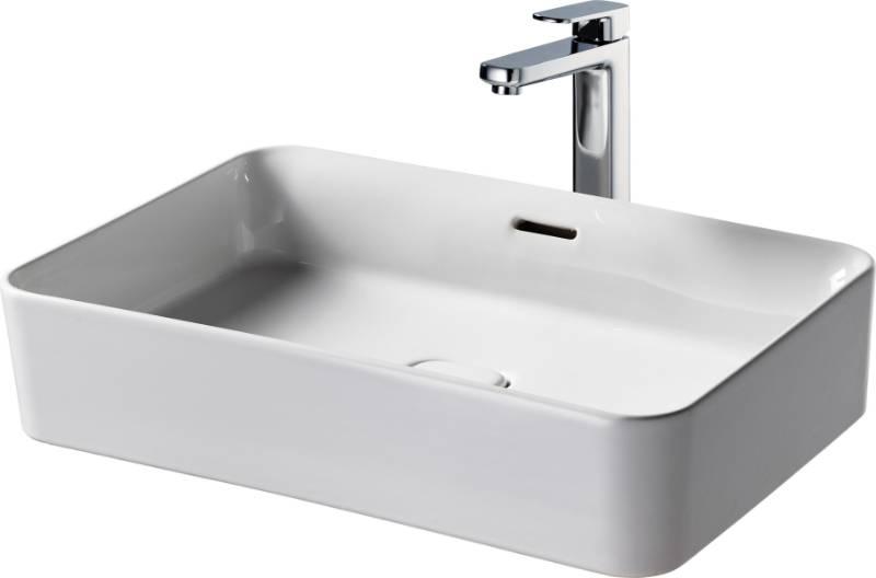 Fusaro Vessel Basin 60X40 White OF NTH Rect