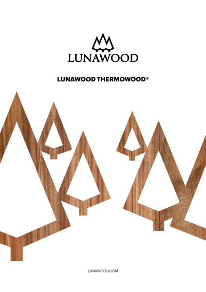 Lunawood Thermowood General Brochure