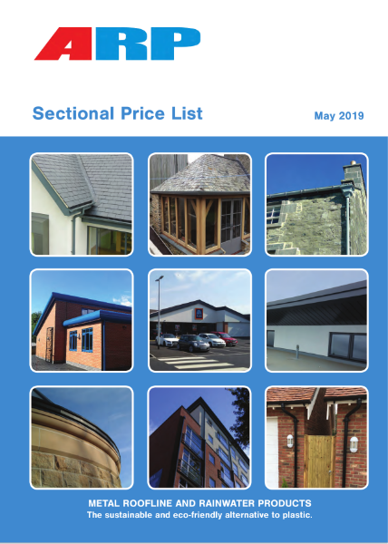 Sectional Price List