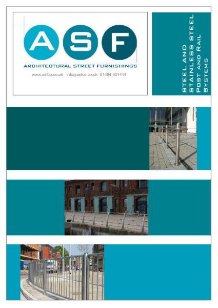 Stainless Steel and Steel Post and Rail Brochure