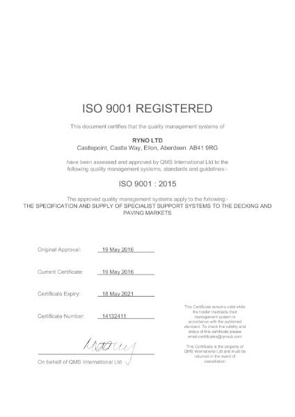 QMS International ISO 9001