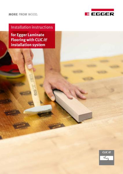 Installation Instructions Flooring CLIC it! Laminate