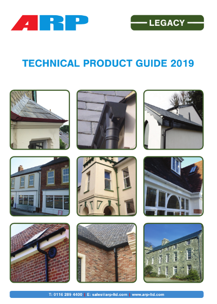 Technical Product Guide - Legacy Cast Aluminium Gutters