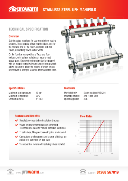 ProWarm Manifolds