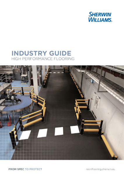 A guide to Sherwin-Williams Industrial Resin Flooring