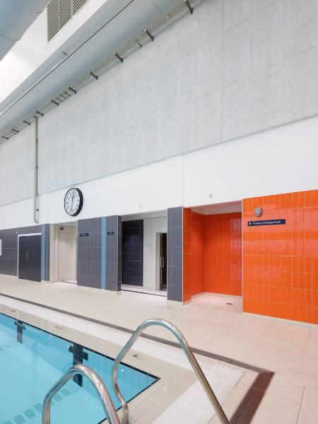 Knauf AMF Specified at the University of Strathclyde's new £31m Sports Centre