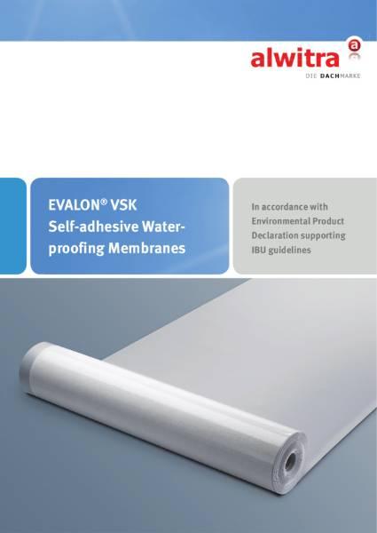 Evalon VSK  single ply membrane Brochure
