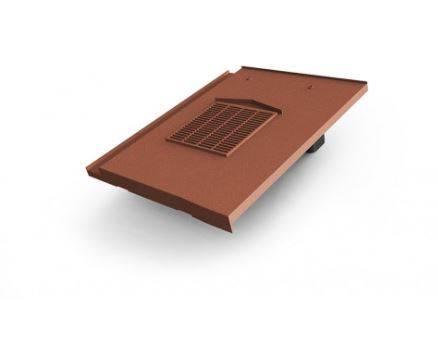Glidevale Protect Universal In-line® Flat Interlocking Tile Ventilator