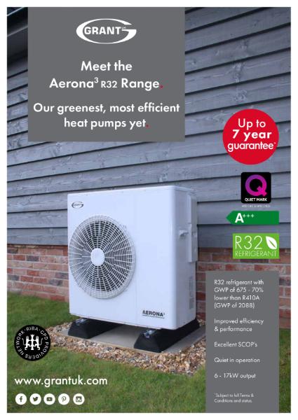 Aerona3 R32 Air Source Heat Pumps - Data Sheet