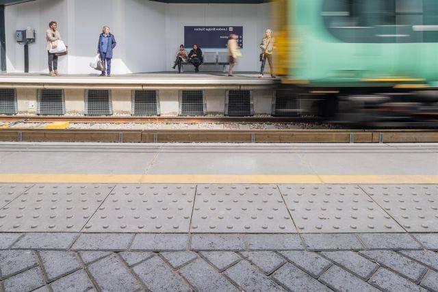 Station Platform Coping - Network Rail