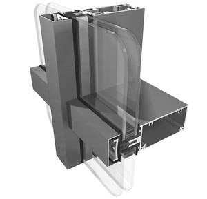 System 8 Low-Rise Curtain Walling