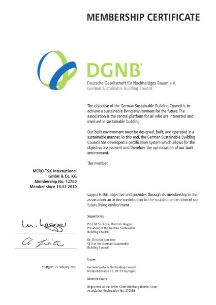 DGNB Membership