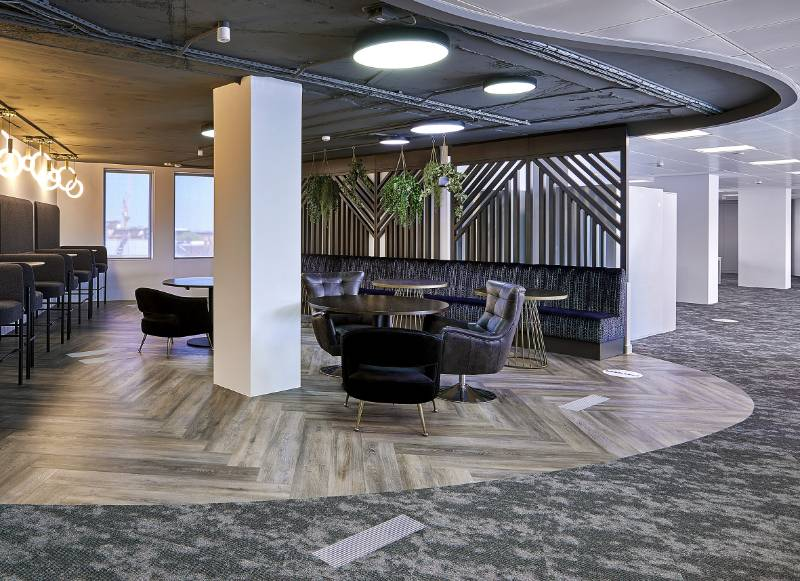 IVC Commercial Solutions Fulfil the Flexibility Needs of Birmingham Workplace