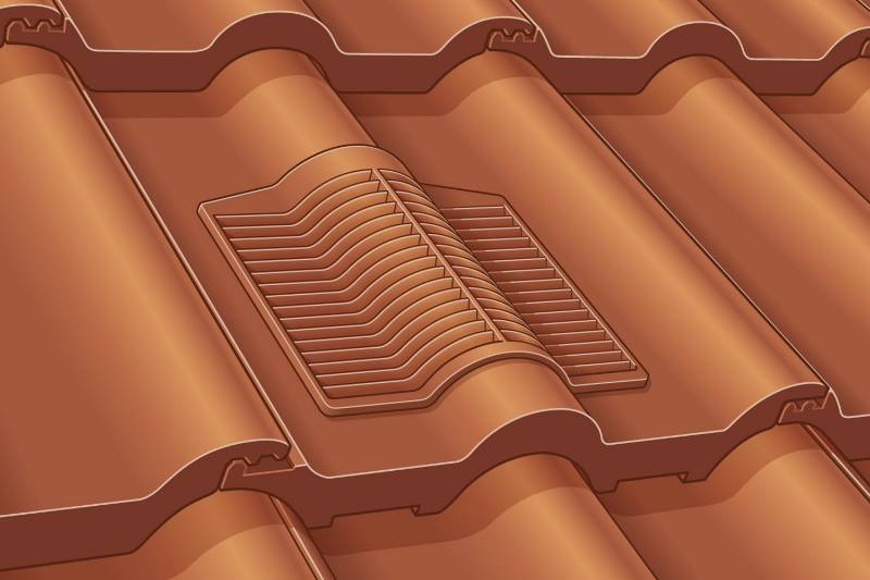 Renown Rapid Roof Vent Tile