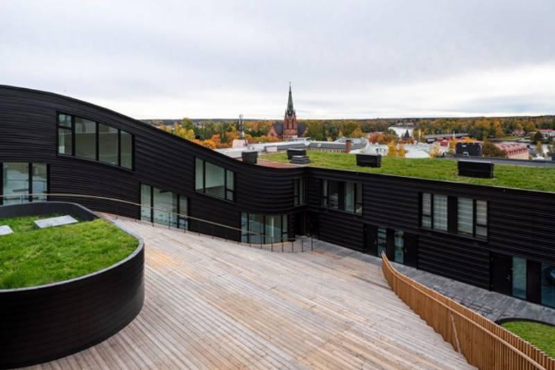 Residential Building Glitne Umea Sweden