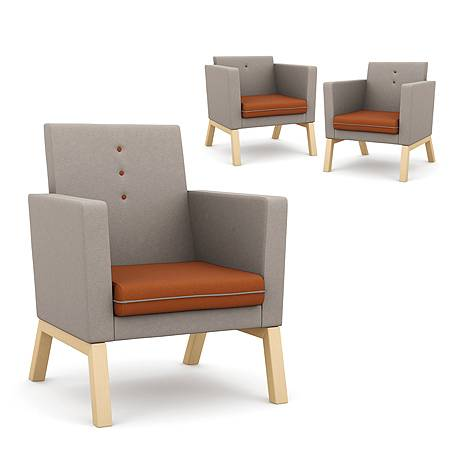 Me, myself and I - Upholstered Armchair