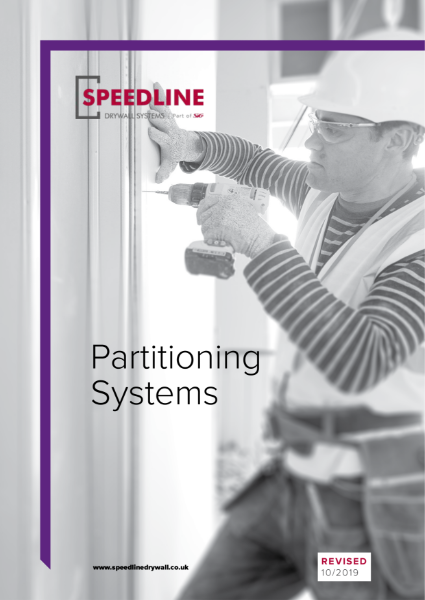 SPEEDLINE Partitioning Systems