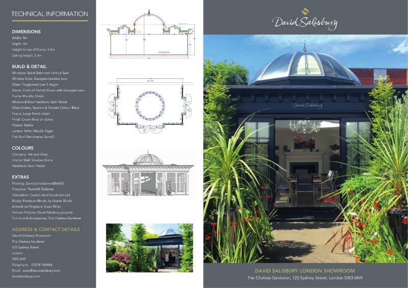 London Showroom Traditional Orangery Brochure