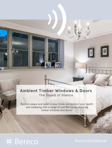 Bereco Ambient Range Acoustic Timber Windows Doors Brochure