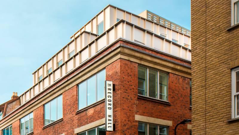 Record Hall, Hatton Square, London