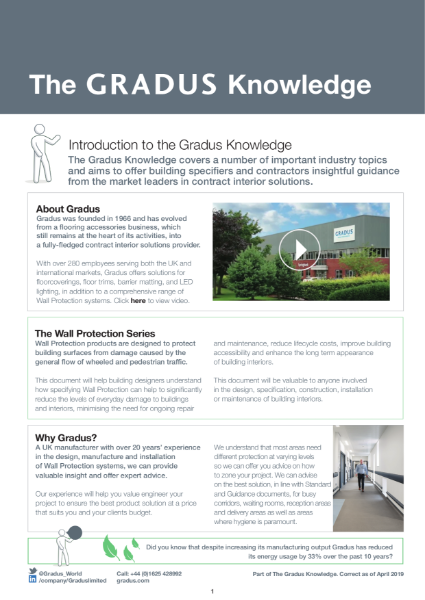 The Gradus Knowledge - Wall Protection Series