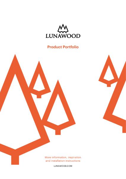 Lunawood Thermowood Product Portolio