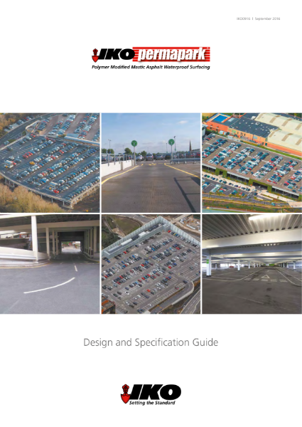 IKO Permapark Design and Specification Guide