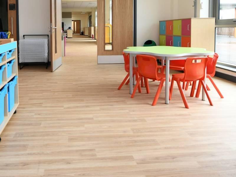 Polysafe flooring helps primary school welcome new pupils